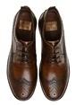 George Hogg %100 Deri Oxford Ayakkabı Taba